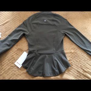 """Lululemon """"ease"""" workout jacket"""